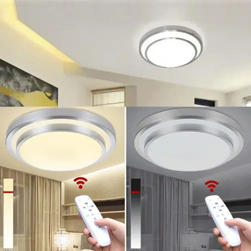 led ceiling light living room furniture and rooms lights change color temperature lamp 40w smart remote control dimmable bedroom 55 54 free shipping gearbest com