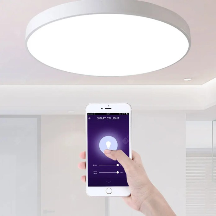 Gearbest Utorch UT30 Smart Voice Control LED Ceiling Light 18W AC 220V