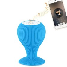 Creative Mini Bluetooth Speaker Phone Stand with Suction Cup