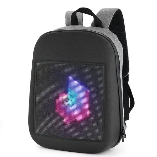Mode WIFI Version Smart Led Sac à dos dynamique