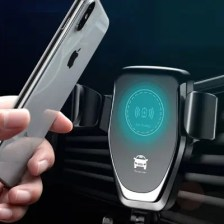 Universal Wireless Qi Fast Charging Car Charger Air Vent Phone Holder