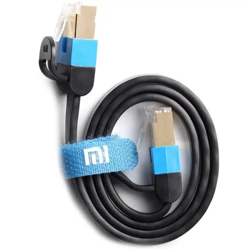 Xiaomi Gigabit Network Cable 24K Gold-plated Crystal Head Support 1000Mbps Transmission 0.5m