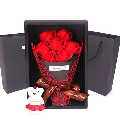 Soap Flowers Gift Box Valentine's Day Creative Gift