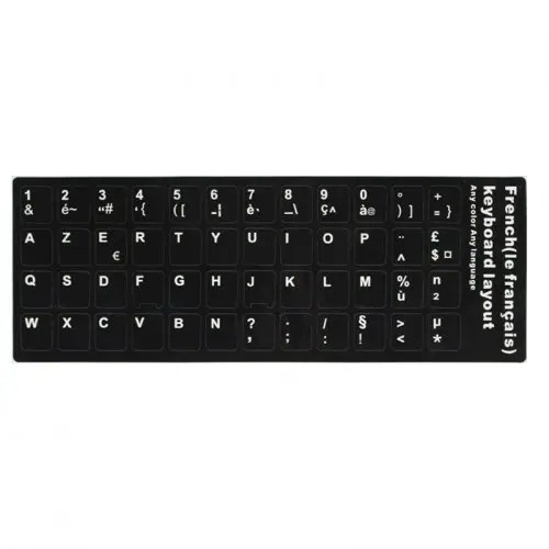 Alfawise DIY Computer Keyboard Sticker 2PCS / Pack