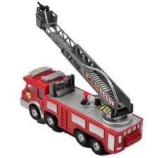 Children Toy Large Electric Water Spray 119 Fire Truck