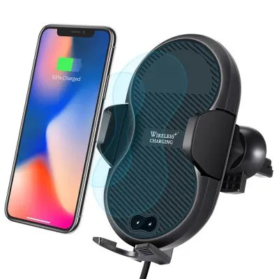 Gearbest Gocomma C8 mini Automatic Qi Wireless Fast Car Charger 10W