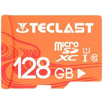 Gearbest Teclast UHS-I U1 High Speed 128GB Micro SD / TF / Memory Card with Waterproof Function - 128GB Light Salmon
