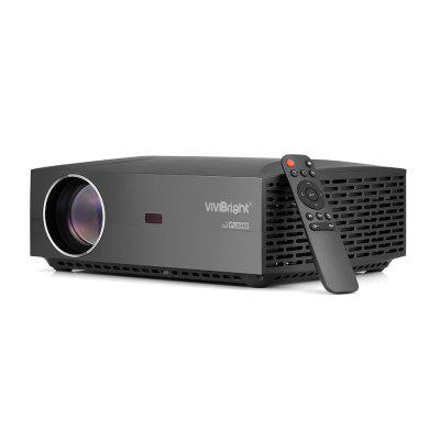 Gearbest VIVIBRIGHT F30 LCD Projector Home Entertainment Commercial - EU Plug Black