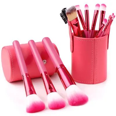 Gearbest Soft Makeup Brush Set 12pcs