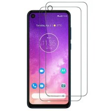 Naxtop 2.5D Tempered Glass Screen Protector for Motorola Moto One Vision / Moto P40