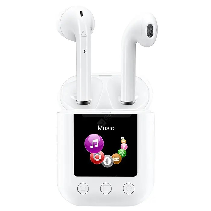 Prévente: A162 Touch Control Bluetooth 5.0 Wireless Earbud MP4 Player - 41.99$