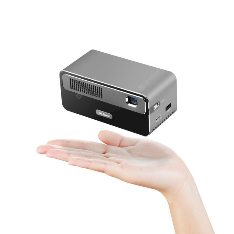 Prévente: Alfawise HDP300 DLP 1080P 200 Inch Mirroring Screen Smart Projector With 7000mAh Battery - 309.99$