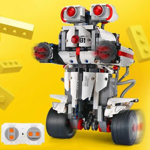 Mould King 13027 DIY Electric Building Blocks Robot 2.4G Remote Control