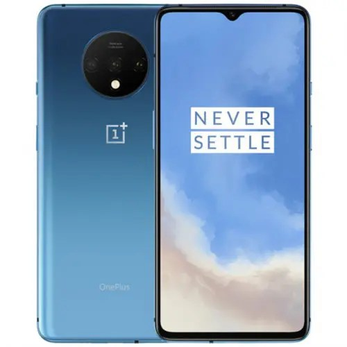 Oneplus 7T 4G Smartphone 6.55 inch Oxygen OS Based Android 10 Snapdragon 855 Plus Octa Core 8GB RAM 256GB ROM 3800mAh Battery International Version