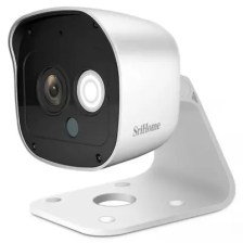 SriHome SH029 3MP 1296P HD Outdoor Network IP Camera Night Vision Two Way Audio Home Security System