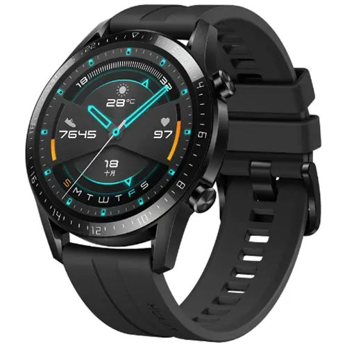 HUAWEI WATCH GT 2 Bluetooth 5.1 46mm GPS Smartwatch Underwater Heart Rate Monitor 1.39 inch AOLED Display 14 Days Battery Life Sports Version