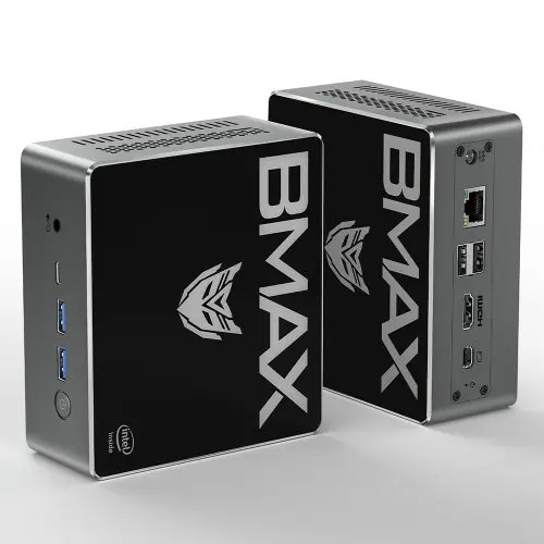 BMAX B3 Plus Portable New Desktop Mini PC 8GB DDR4 + 256GB SSD