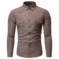 Men's Plaid Shirt CS04