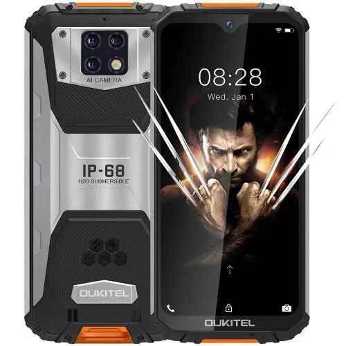 OUKITEL WP6 4G Smartphone 10000mAh Battery 6.3 Inch 48MP+ 5MP+0.3MP Rear Camera 6GB RAM 128GB ROM IP68 Waterproof Global Version