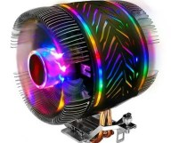 T2 Dual Turbo CPU Cooler with Symphony Breathing Light