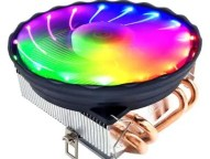 M400 Four Copper Tube Color CPU Cooler Radiator 3Pin Interface for Desktop Computer