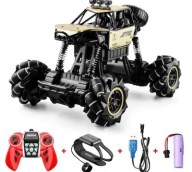 Dual Remote Control Gesture Alloy Oversized Sport Utility Vehicle Four-wheel Drive High Speed Drift Children Climbing Toy Car