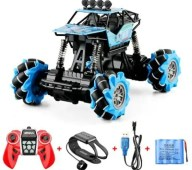 Dual Remote Control Gesture Alloy Oversized Utility Vehicle Four-wheel Drive High Speed Drift Children Climbing Toy Car