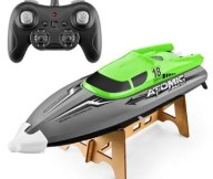 601 2.4G High-speed Remote Control Boat Capsize Reset Pull Water-cooled Cooling Water Games Boats Fishing Toys