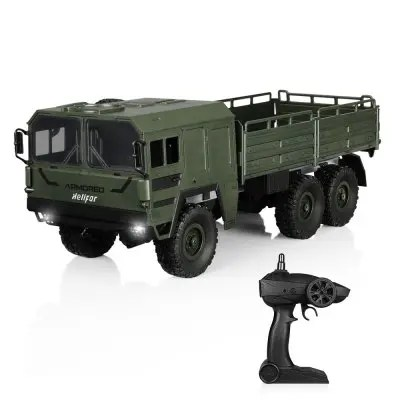 Gearbest helifar HB - NB2805 1 : 16 Military RC truck - ARMY GREEN