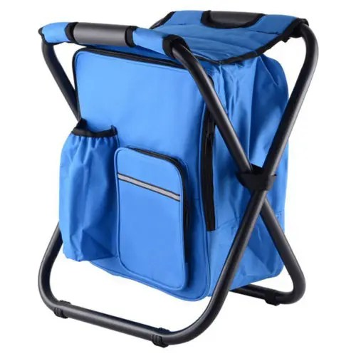 fishing cooler chair swing john lewis portable folding backpack bag stool beach for camping hiking picnics 51 74 free shipping gearbest com