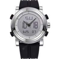 SINOBI Sports Digital Men Wrist Watches Date Waterproof Chronograph Watch