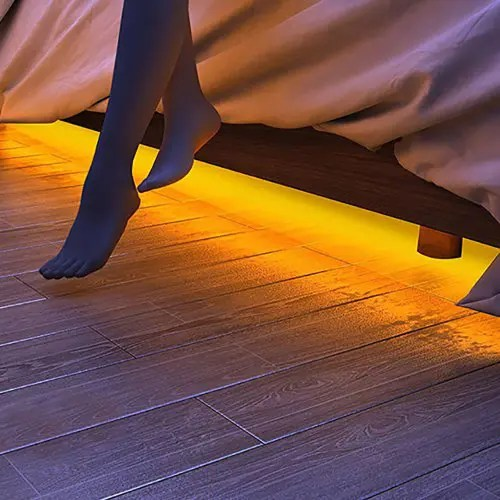 LED Human Bedside Sensor Light Strip for Bedroom Bed