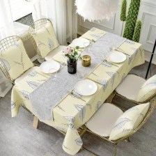 Double-Faced Tablecloth with Modern and Simple Style