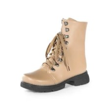 Autumn and Winter New Big Head Thick with Women'S Boots Knight Boots Motorcycl