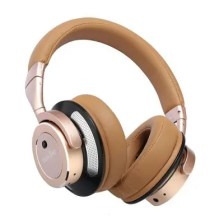 Metal cool fashion bluetooth active noise-cancelling headphones