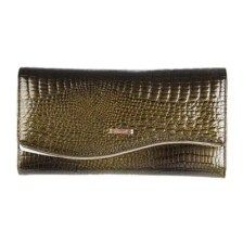 Solid Color Long Purse Clutch