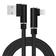 Double Elbow 90 Degrees Data Cable for iPhone