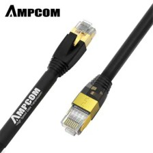 AMPCOM 40Gps CAT8 Cable High Speed Adapter for Switch Router /TV/ PC