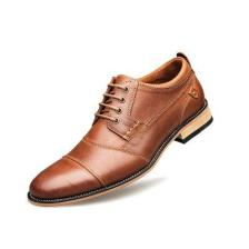 New Business Dress Shoes Top Layer Leather Casual Plus Size Men'S Shoes