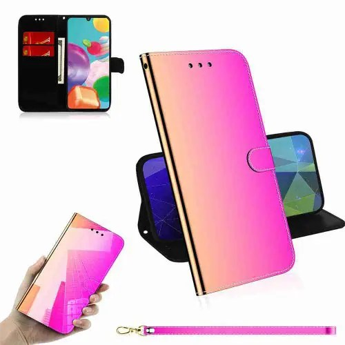 Pure Color Like Mirror Phone Case for Samsung Galaxy A41