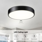 24w Ceiling Light With 30pcs Led Beads Radar Sensor Super Bright And Long Lifespan For Kitchen Bedroom Balcony Bathroom Living Room Sale Price Reviews Gearbest