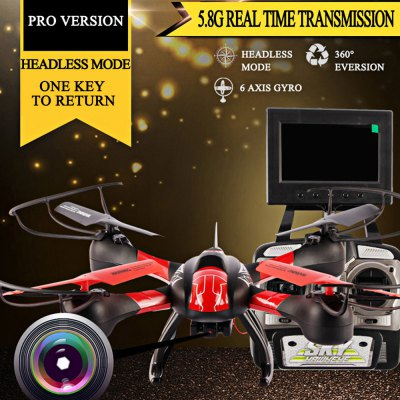 SKY HAWKEYE 1315S 5.8G FPV Real Time Transmission RC Quadcopter with 2MP HD Camera Headless Mode 2.4G 4 Channel 6 Axis Gyro RPV UFO