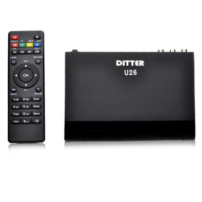 DITTER U26 TV Box HDMI WiFi 512MB / 4GB Android 4.4.2 RK3128 Quad Core Цена € 27. 44