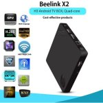 Beelink X2 TV Box 4K H.265 Decoding  -  EU PLUG  BLACK Цена €27.86