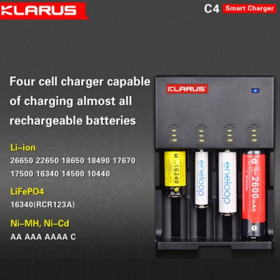 klarus,c4,battery,charger,coupon,price,discount