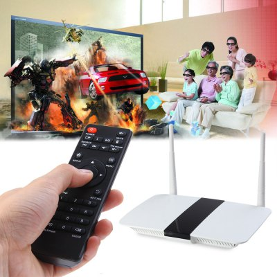 Q2 Mini Quad Core ARM Cortex-A7 RK3128 Android 4.4.4 TV Box Цена € 26. 55