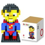 LOZ 120Pcs M - 9152 Superman Building Block Educational Assembling Boy Girl Gift for Spatial Thinking