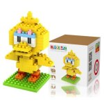LOZ 110Pcs M - 9118 BIG BIRD Sesame Street Building Block Educational Boy Girl Gift for Spatial Thinking