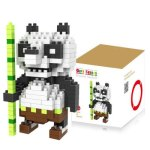 LOZ 200Pcs M - 9339 Cute Panda Building Block Educational Boy Girl Gift for Spatial Thinking