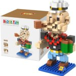 LOZ L - 9443 Popeye the Sailor Man Micro Diamond Building Block 280Pcs Educational Toy
